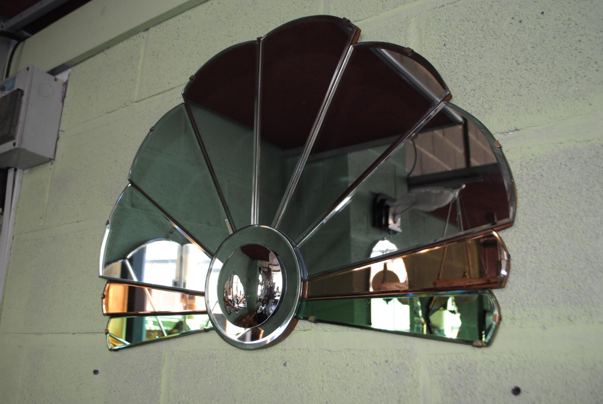 Art Deco Fan Mirror Cloud 9 Art Deco Furniture Sales