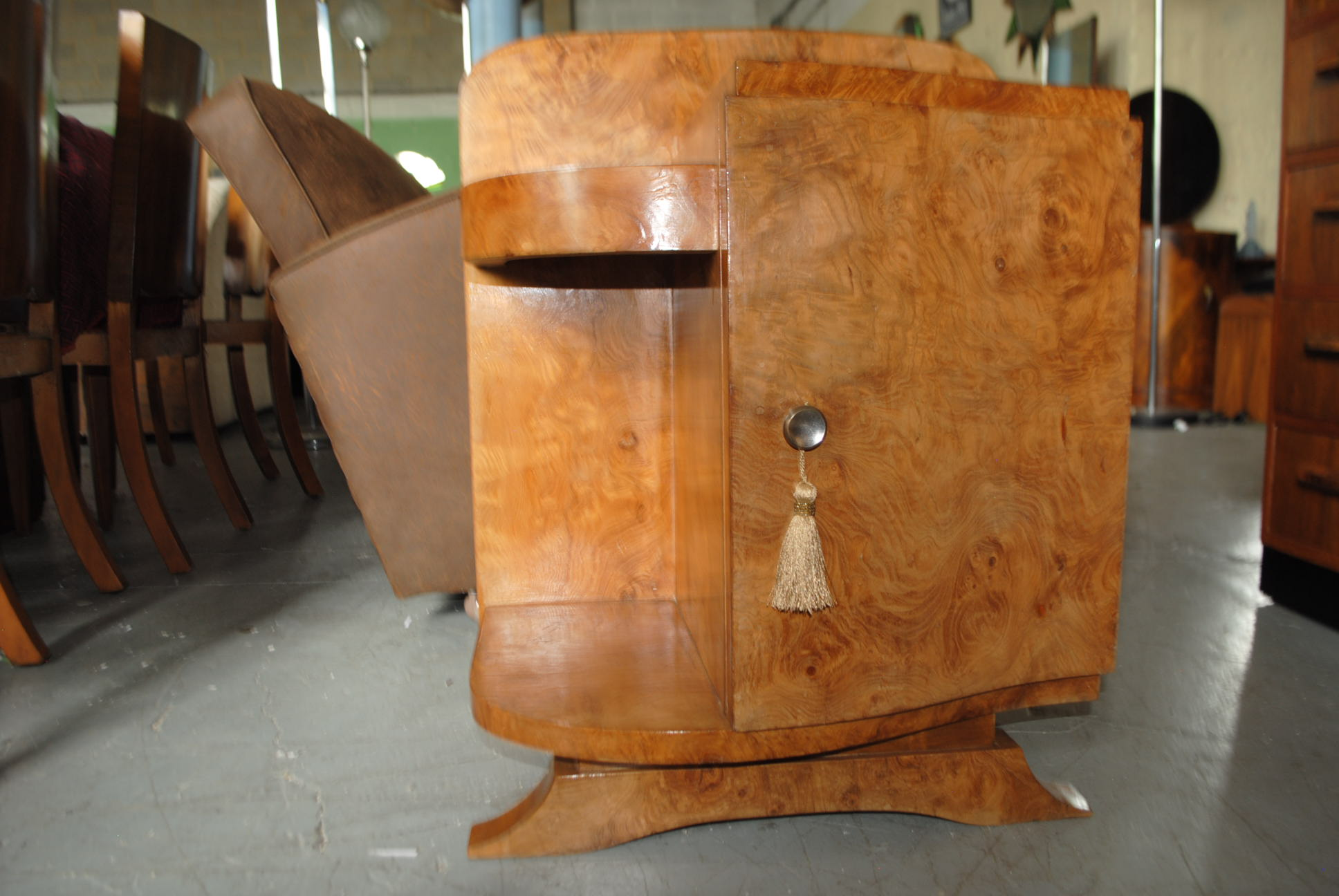 Art Deco Cupboard Cloud 9 Art Deco Furniture Sales